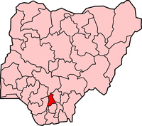 Map of Anambra State