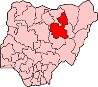 Map of Bauchi State