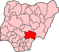 Map of Benue State