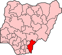 Map of Cross River State
