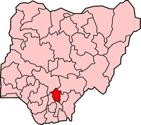 Map of Enugu State