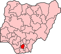 Map of Imo State
