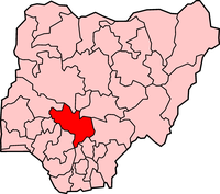Map of Kogi State
