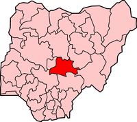 Map of Nasarawa State